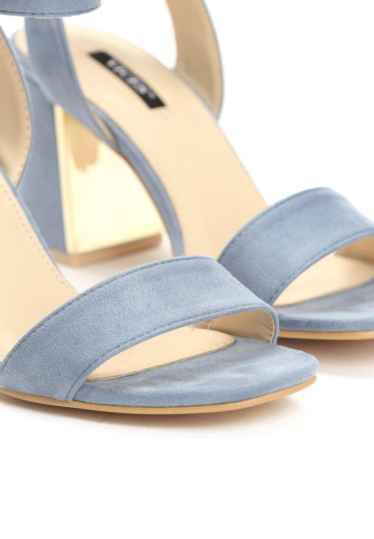 Niebieskie Sandały Forest Calm