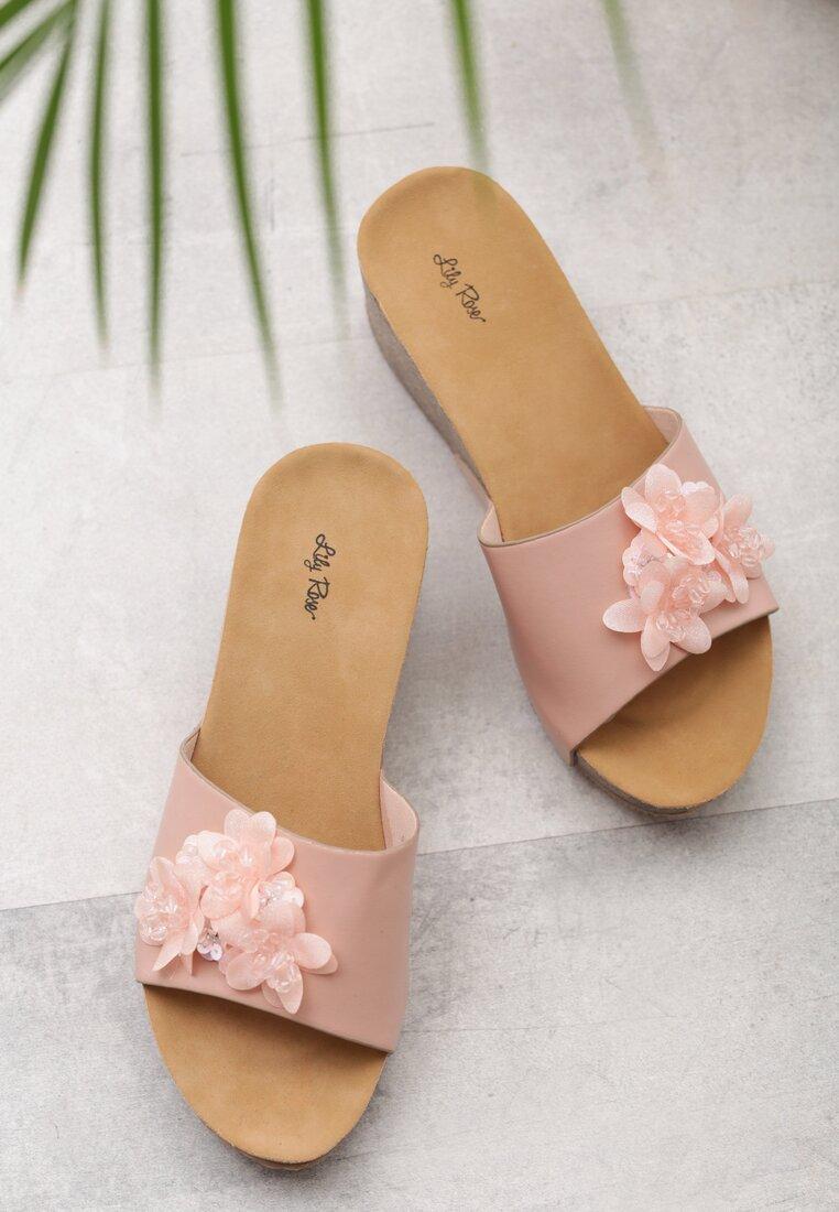 Różowe Klapki Blithe
