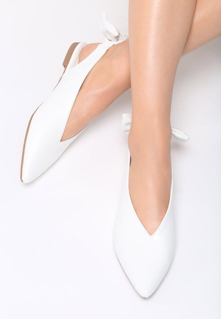 Białe Balerinki Have You Ever