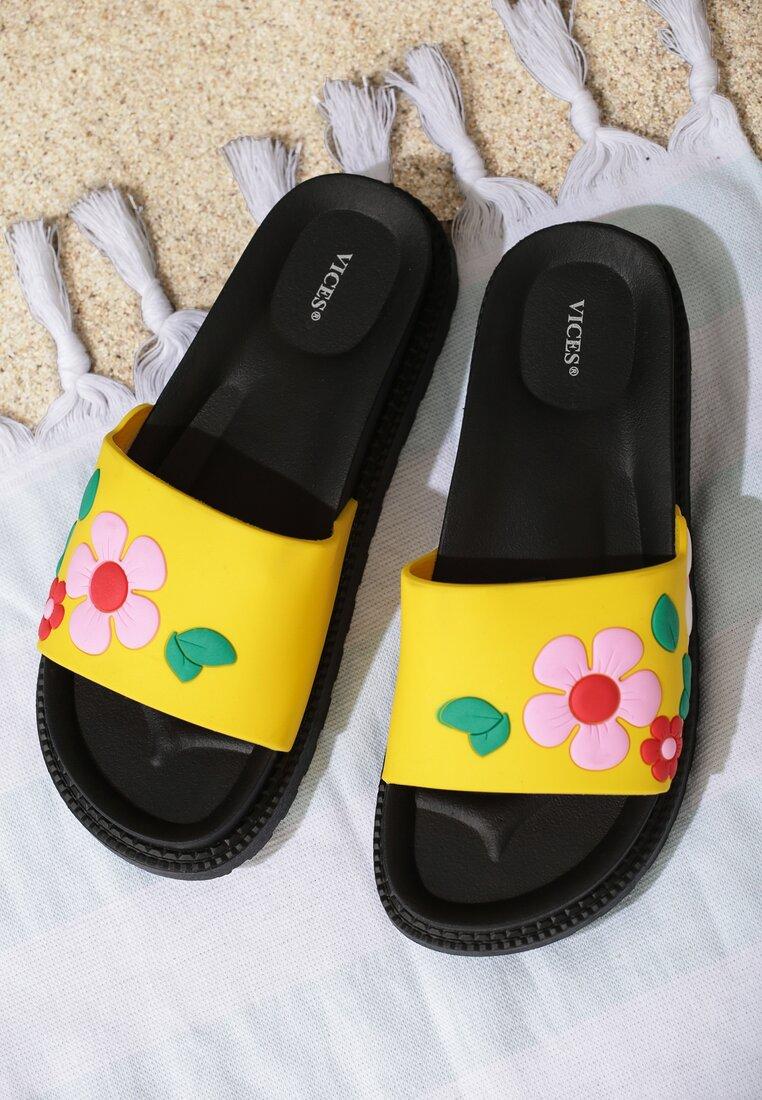 Żółte Klapki Stiff Sunflower
