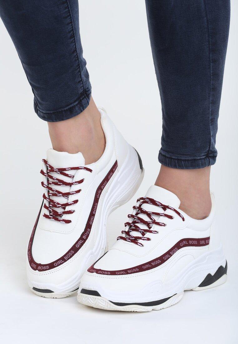 Białe Buty Sportowe My Manifesto