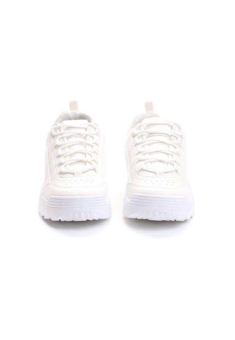 Białe Buty Sportowe The First Marathon