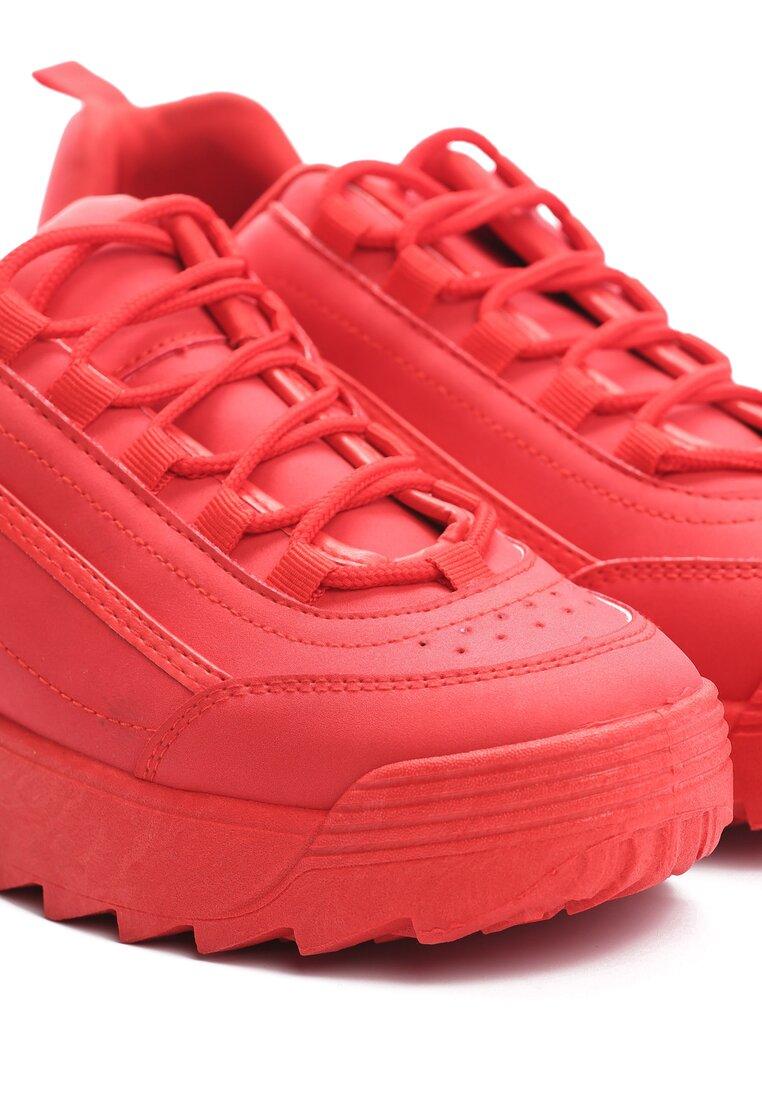 Czerwone Buty Sportowe The First Marathon
