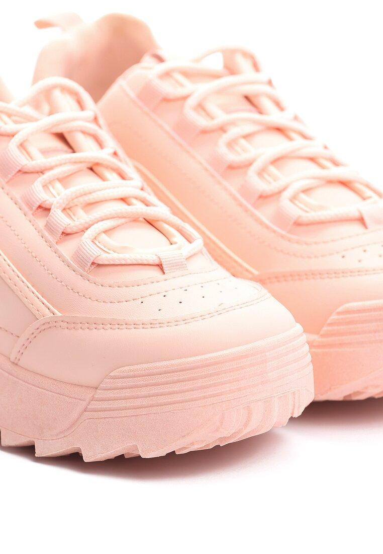 Różowe Buty Sportowe The First Marathon