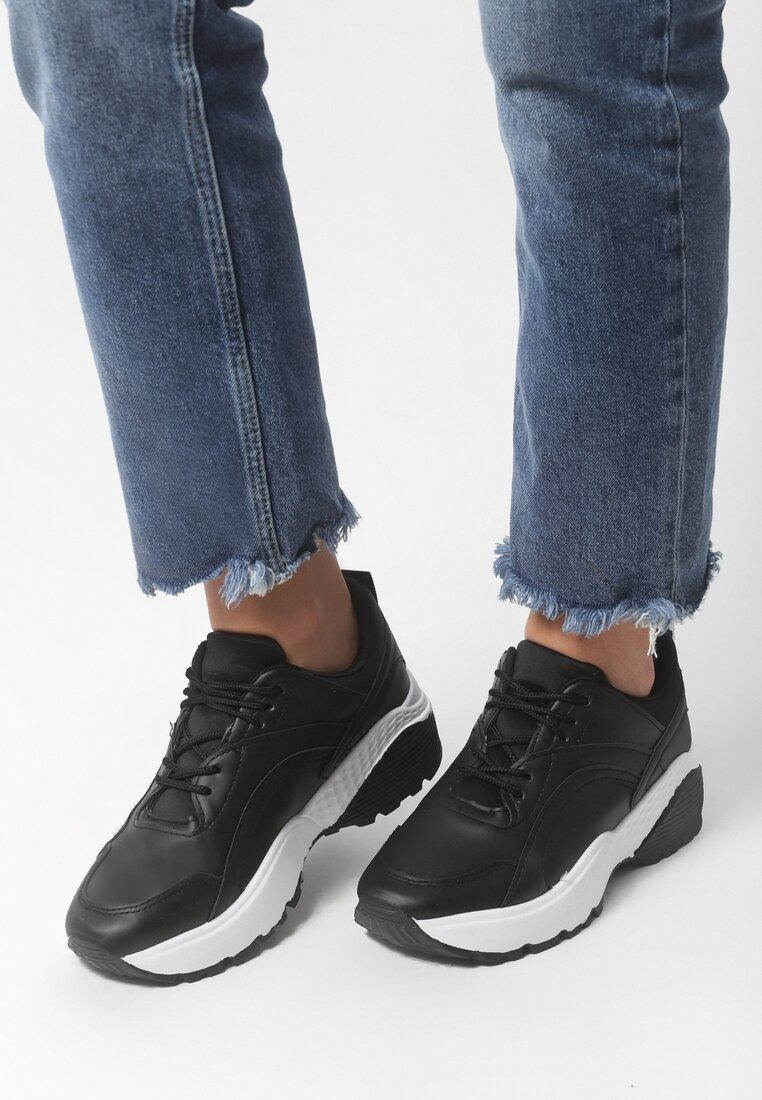 Czarne Buty Sportowe Stereo Love