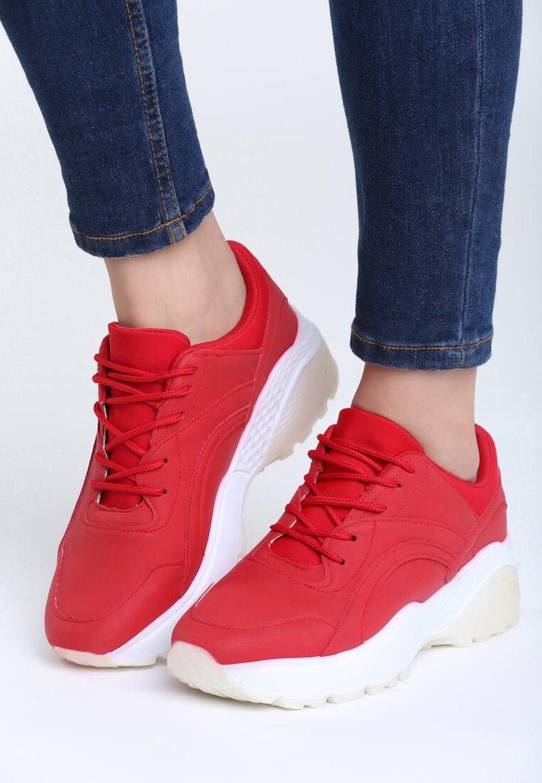 Czerwone Buty Sportowe Stereo Love