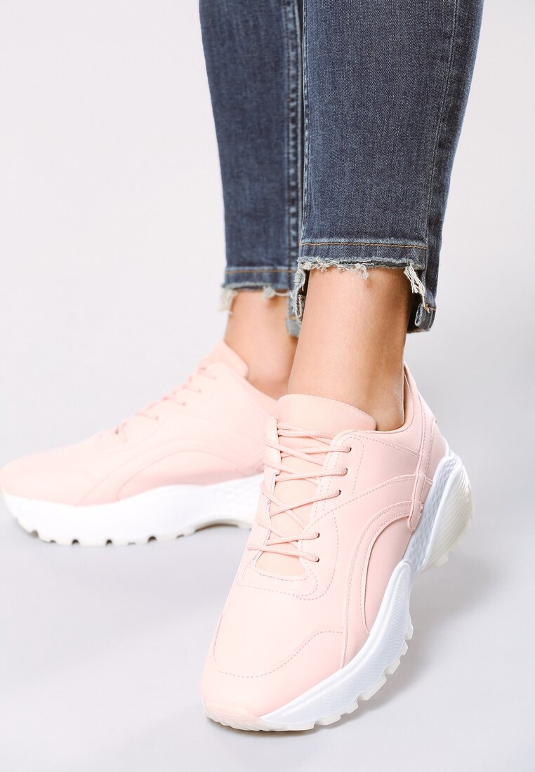 Różowe Buty Sportowe Stereo Love