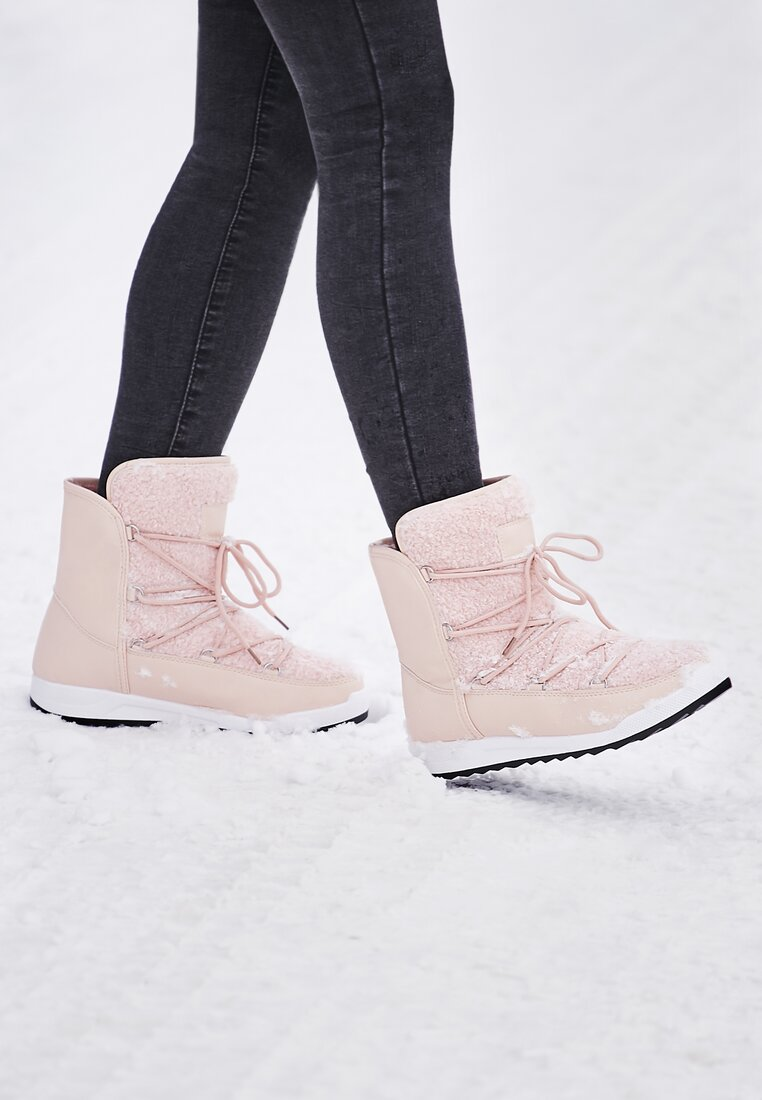 Różowe Śniegowce Snowy Girl