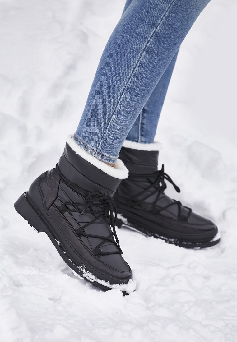 Czarne Śniegowce Good Reason