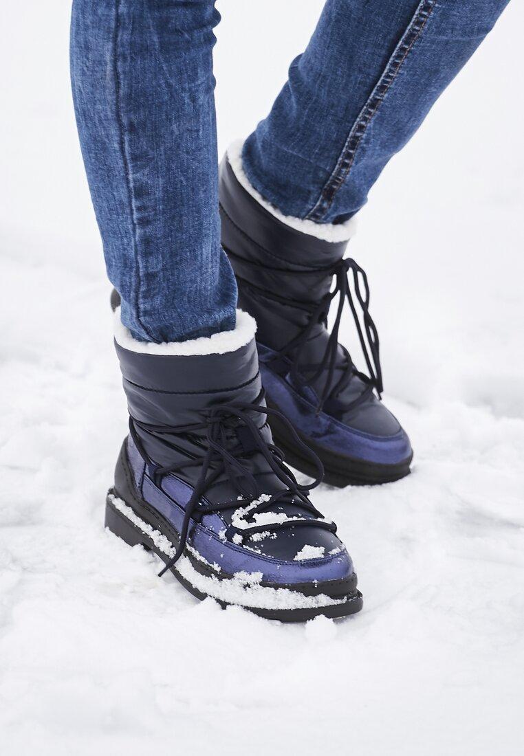 Granatowe Śniegowce Good Reason