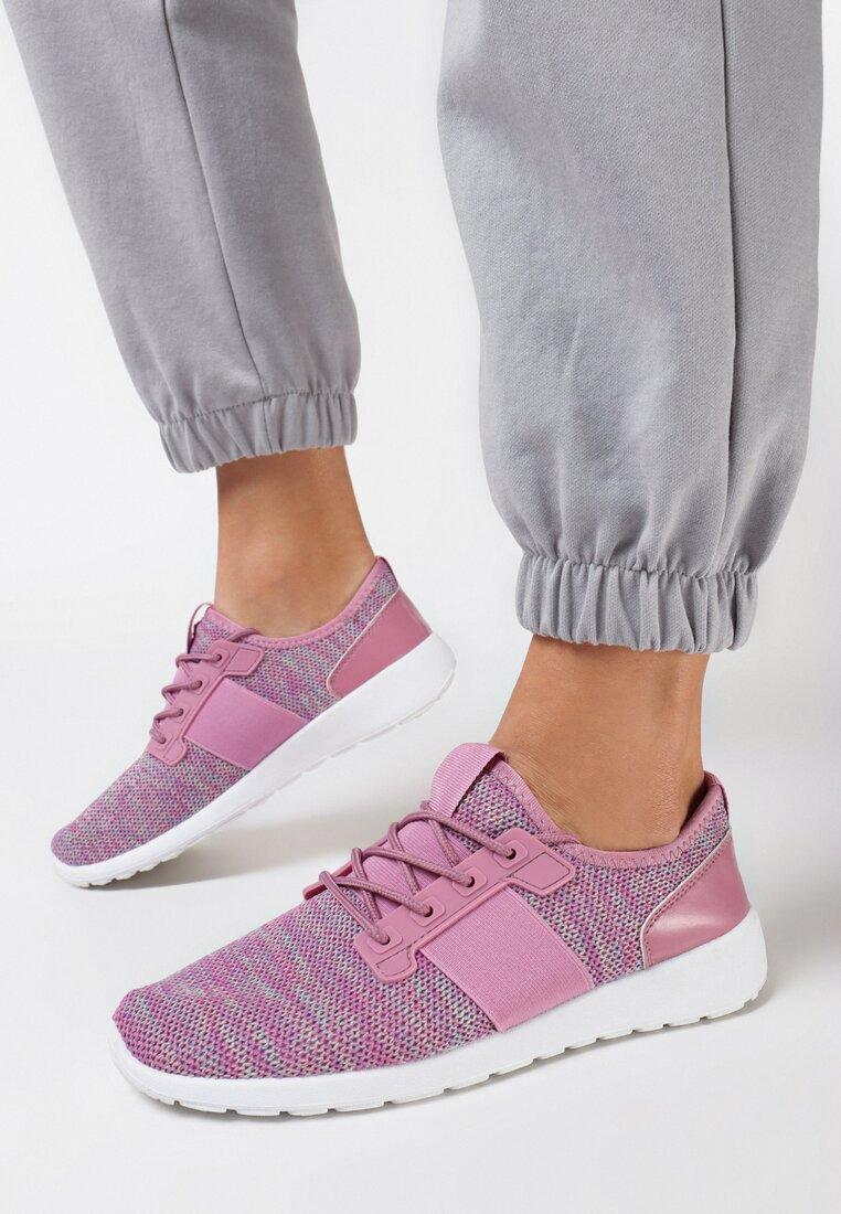 Różowe Buty Sportowe Ligation
