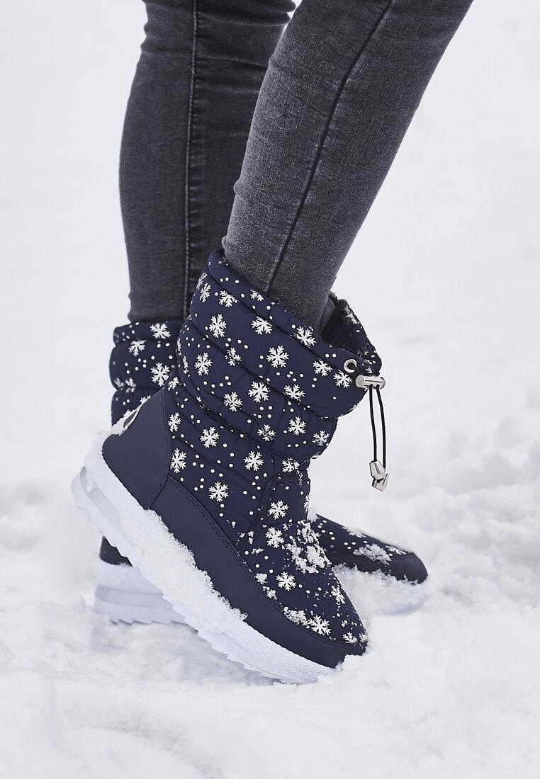 Granatowe Śniegowce Unseen