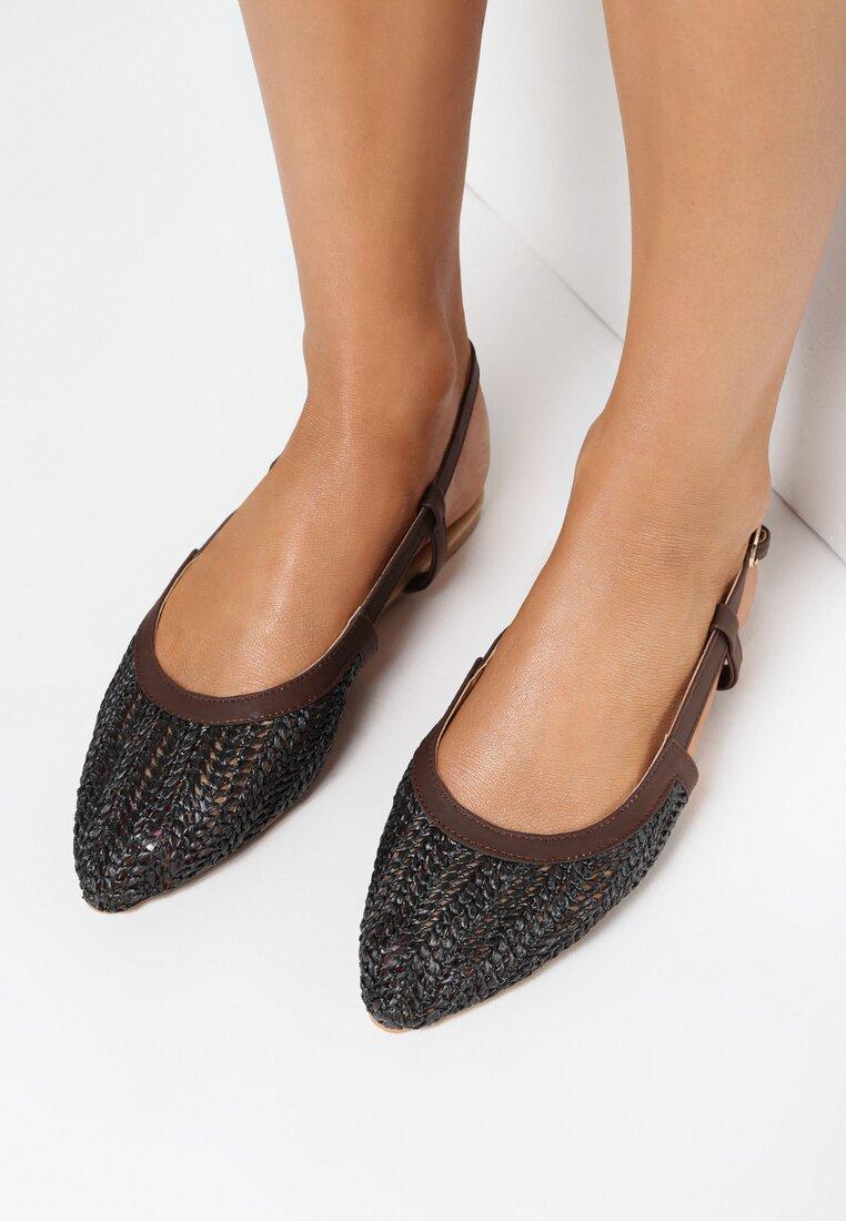 Czarne Sandały Aboveboard vices