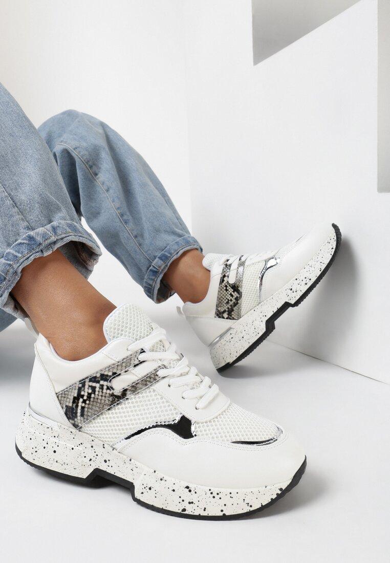 Białe Sneakersy Liriye