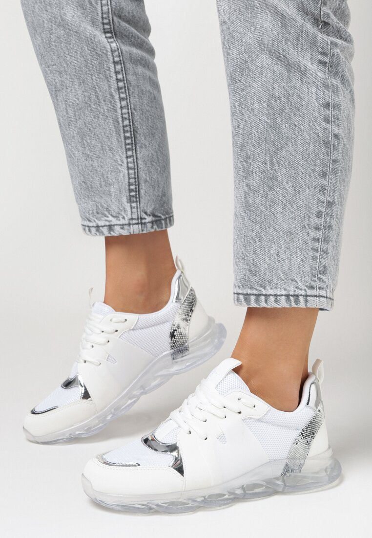 Białe Sneakersy Designate vices