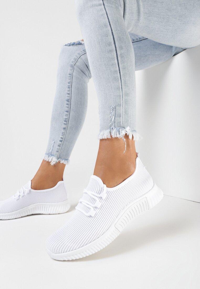 Białe Buty Sportowe Nautiney
