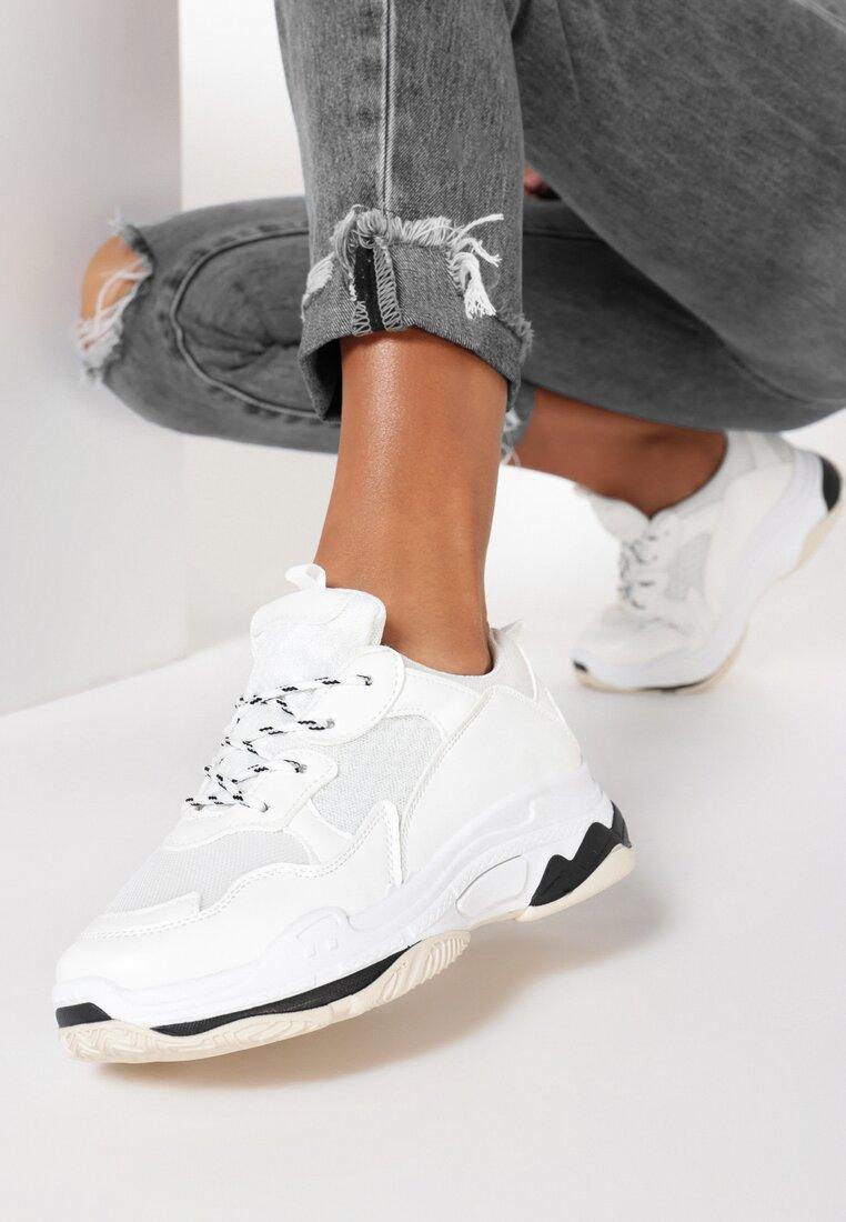 Białe Sneakersy Oledanea