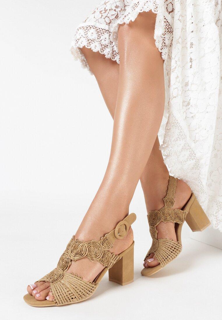 Beżowe Sandały Lorelle