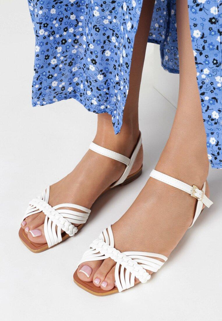 Białe Sandały Lairin