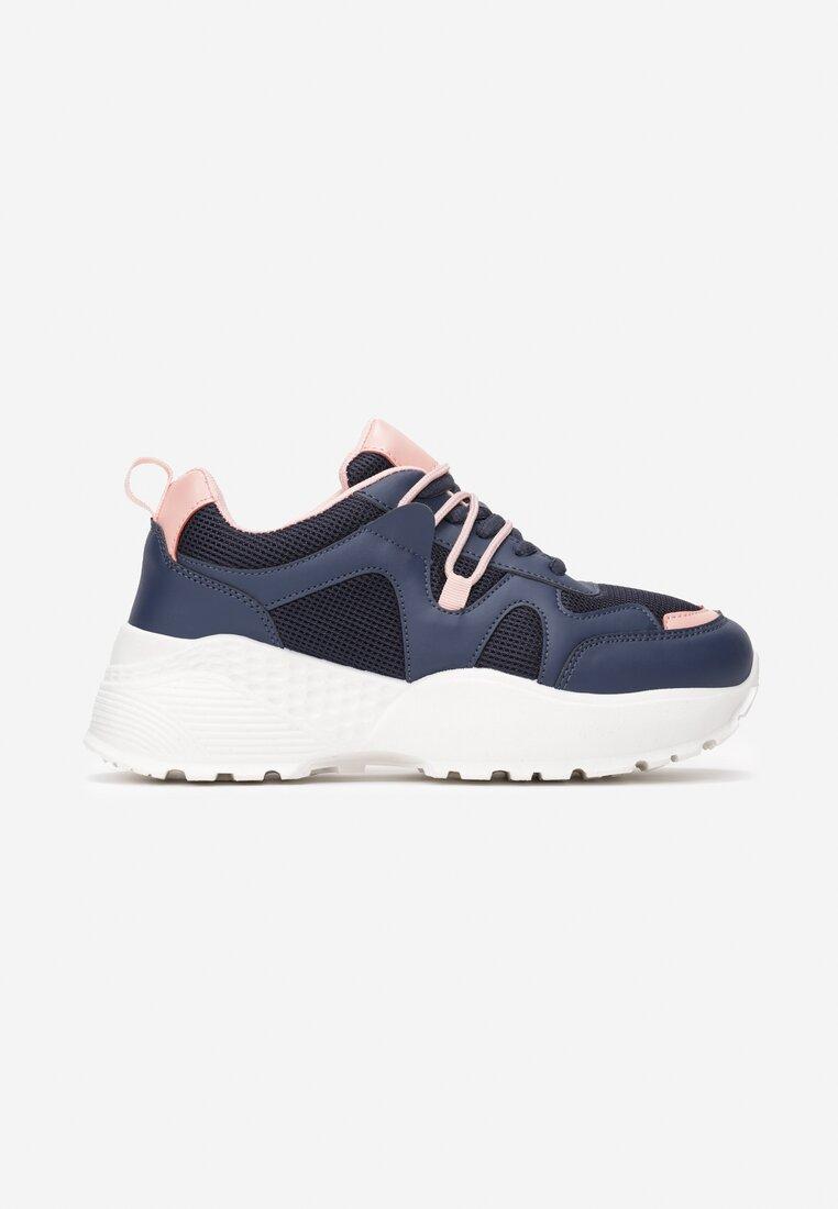 Granatowe Sneakersy Acalenia