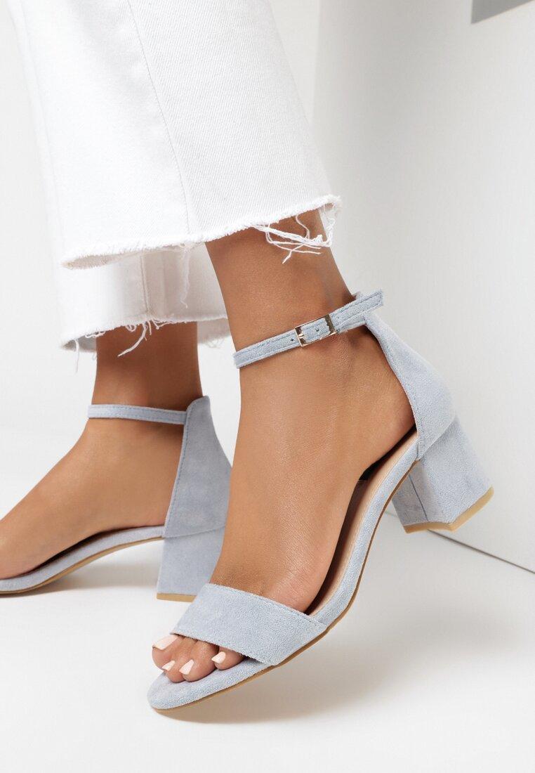 Niebieskie Sandały Loreria